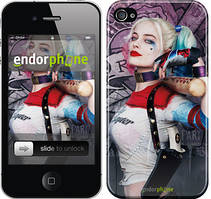 """Чехол на iPhone 4s Отряд самоубийц """"3763c-12"""""""