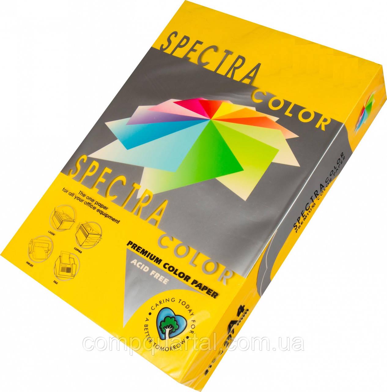 Папір кольоровий 80г/м, А3 500арк. SPECTRA COLOR IT 200 Gold (Інтенсивний жовтий)