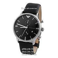 Мужские наручные часы Emporio Armani AR0397 Black/Silver/Black