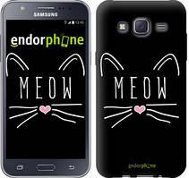 "Чехол на Samsung Galaxy J5 J500H Kitty ""3677c-100"""