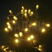 "Аренда LED гирлянды ""нить LED-PLR-50-5М-240V-Y"", 50 св, 5+ м, желтый"