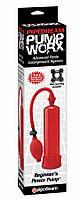 326015 / Pump Worx Beginner's Power Pump Redм/ Вакуумная помпа, красная, мужская