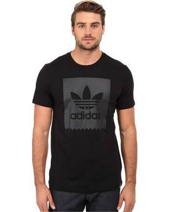 Футболка мужская с принтом Adidas solid logo, фото 2