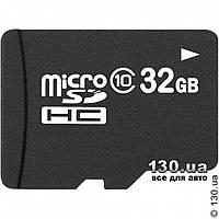 MicroSD карта памяти OEM 32 Гб, класс 10 — для записи HD 1080P видео (microSDHC 10) с SD адаптером