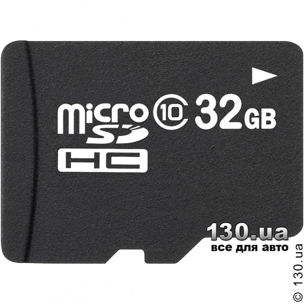 MicroSD карта памяти OEM 32 Гб, класс 10 — для записи HD 1080P видео (microSDHC 10) с SD адаптером - 130.com.ua в Киеве