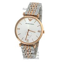 Мужские наручные часы Emporio Armani AR1677 Silver-Gold/Gold/White