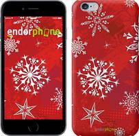 "Чехол на iPhone 6 Plus Снежинка 2 ""3312c-48"""