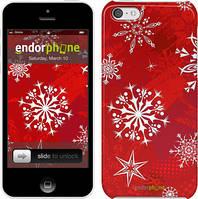 "Чехол на iPhone 5c Снежинка 2 ""3312c-23"""