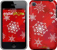 "Чехол на iPhone 3Gs Снежинка 2 ""3312c-34"""