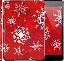 """Чехол на iPad 5 (Air) Снежинка 2 """"3312c-26"""""""