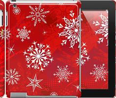 """Чехол на iPad 2/3/4 Снежинка 2 """"3312c-25"""""""