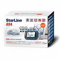 Двусторонняя автосигнализация StarLine A94 Slave с CAN шиной и автозапуском двигателя