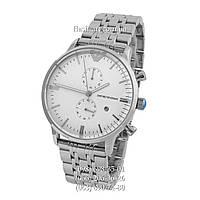 Мужские наручные часы Emporio Armani AR0389 Silver/White