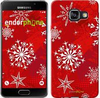 "Чехол на Samsung Galaxy A3 (2016) A310F Снежинка 2 ""3312c-159"""