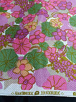 Ткань интерьерная  цветы