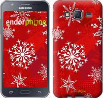 "Чехол на Samsung Galaxy J5 J500H Снежинка 2 ""3312c-100"""