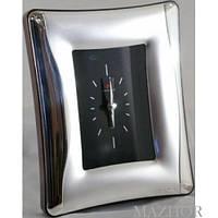Прекрасные механические настольные часы Angely PC5131/6, серебристый