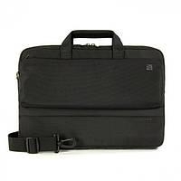 "Сумка для ноутбука 15"" Tucano Dritta Slim bag Polyester (Black)"