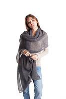 Теплая  тонкая женская шаль