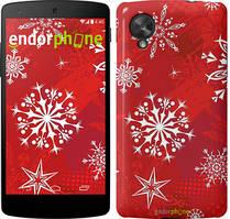 "Чехол на LG Nexus 5 Снежинка 2 ""3312c-57"""