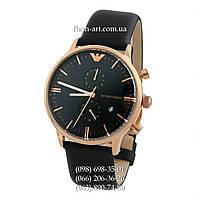 Мужские наручные часы Emporio Armani AR0397 Black/Gold/Black