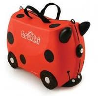 Детский дорожный чемоданчик Trunki Harley Ladybug (0092-GB01-UKV)
