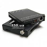 Автомобильный видеорегистратор Easy Storage HDVR-004 4-х канальный с Wi-Fi