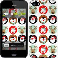 """Чехол на iPhone 5 Christmas 2 """"3849c-18"""""""