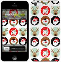 """Чехол на iPhone 5c Christmas 2 """"3849c-23"""""""