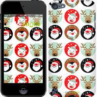 Чехол на iPod Touch 5 Белый, Christmas 2