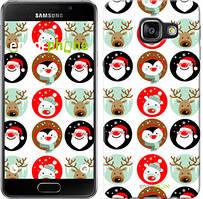 "Чехол на Samsung Galaxy A3 (2016) A310F Christmas 2 ""3849c-159"""