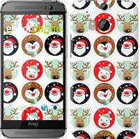 "Чехол на HTC One M8 Christmas 2 ""3849c-30"""