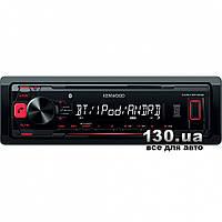 Медиа-ресивер Kenwood KMM-BT302 с Bluetooth