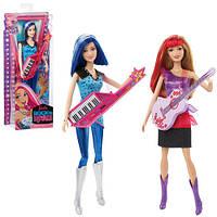 "Кукла Barbie ""Звезда сцены"" из м/ф «Barbie: Рок-принцесса» CKB60 Mattel"