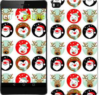 "Чохол на Huawei Ascend P8 Christmas 2 ""3849u-123"""