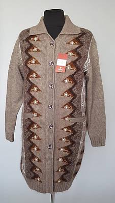 Пальто шерстяное  женское на пуговицах