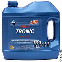 Моторное масло синтетическое Aral HighTronic SAE 5W-40 — 4 л для легковых автомобилей