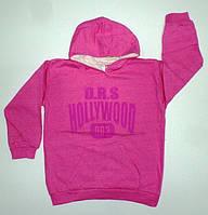 """Детская толстовка """" Hollywood"""" на девочку """"начеc"""" рост 134,140,146,152см"""
