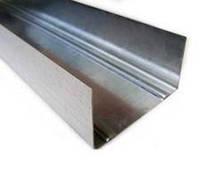 Профиль для гипсокартона направляющий стеновой UW 55 x 40 x 3000 мм