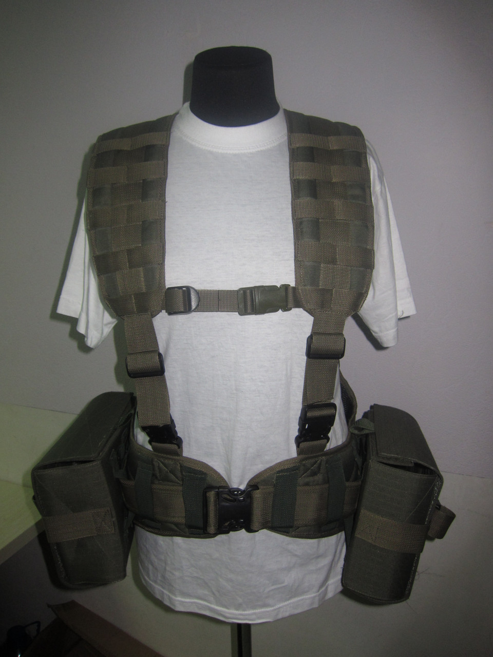 Разгрузочная поясная система пулемётчика,РПС-ПК(ПКМ)