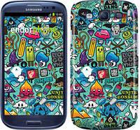 "Чехол на Samsung Galaxy S3 Duos I9300i Стикер бомбинг 1 ""693c-50"""