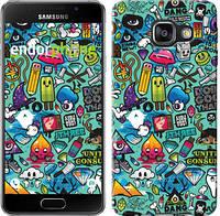 "Чехол на Samsung Galaxy A3 (2016) A310F Стикер бомбинг 1 ""693c-159"""