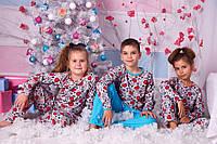Пижама детская трикотажная пуговки