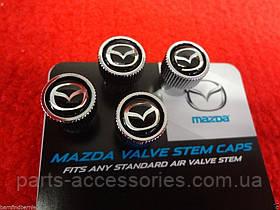 Mazda CX5 CX-5 2013-17 колпачки на ниппеля дисков Новые Оригинал