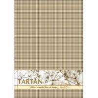 Блокнот  Тартан  А5, термобіндер, горизонт. проклейка, 80 арк., кліт., асорті O20368-66