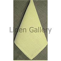 Серветка льняна жовта(45*45 см.)