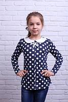 Нарядная кофточка для девочки с воротничком