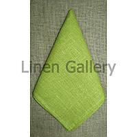 Серветка льняна зелена(45*45 см.)