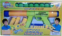 Помповое оружие 8100A, мягкие шарики (8 шт.), ракеты (3 шт.), пули на присосках (6 шт.), возраст 3+