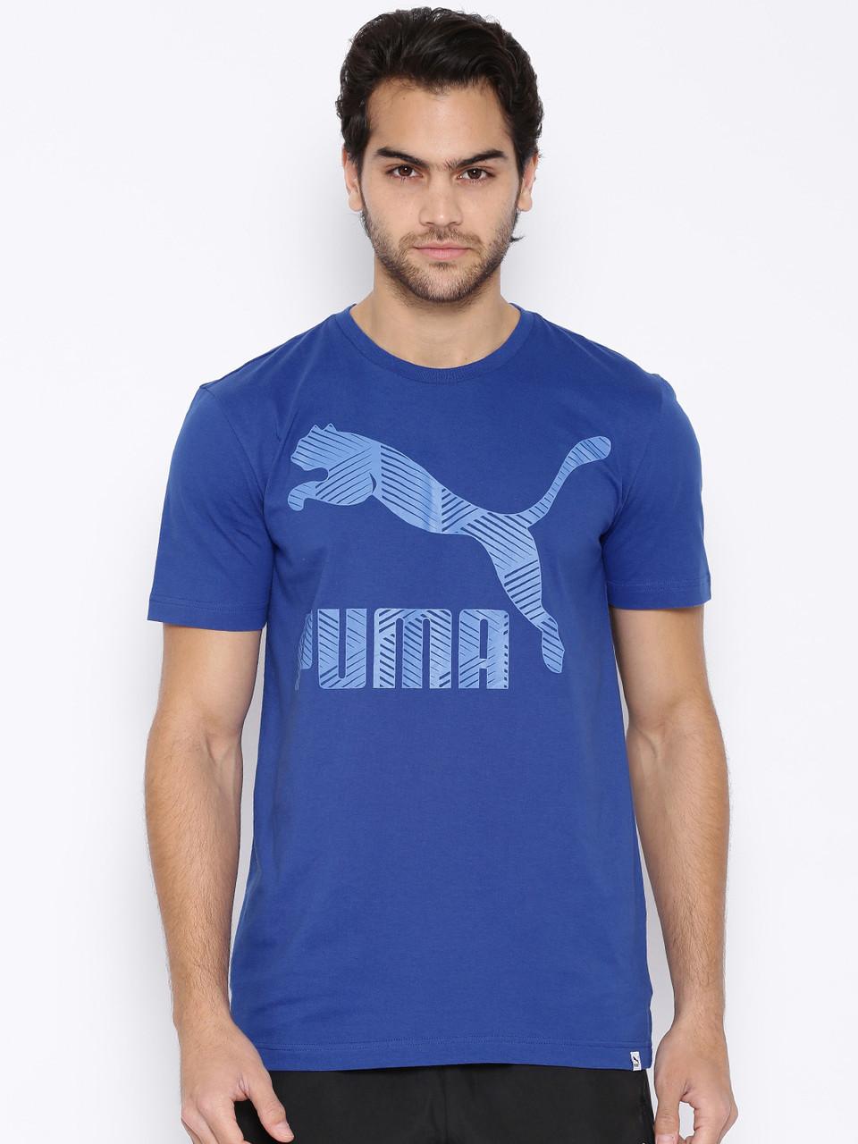 Футболка мужская стильная PUMA Stripe logo